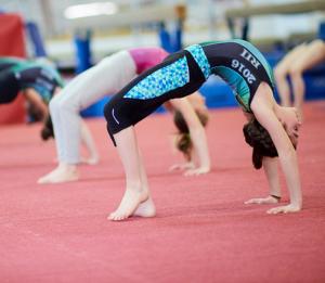 Girls Gymnastics Class