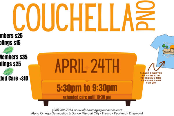 Couchella Parent's Night Out