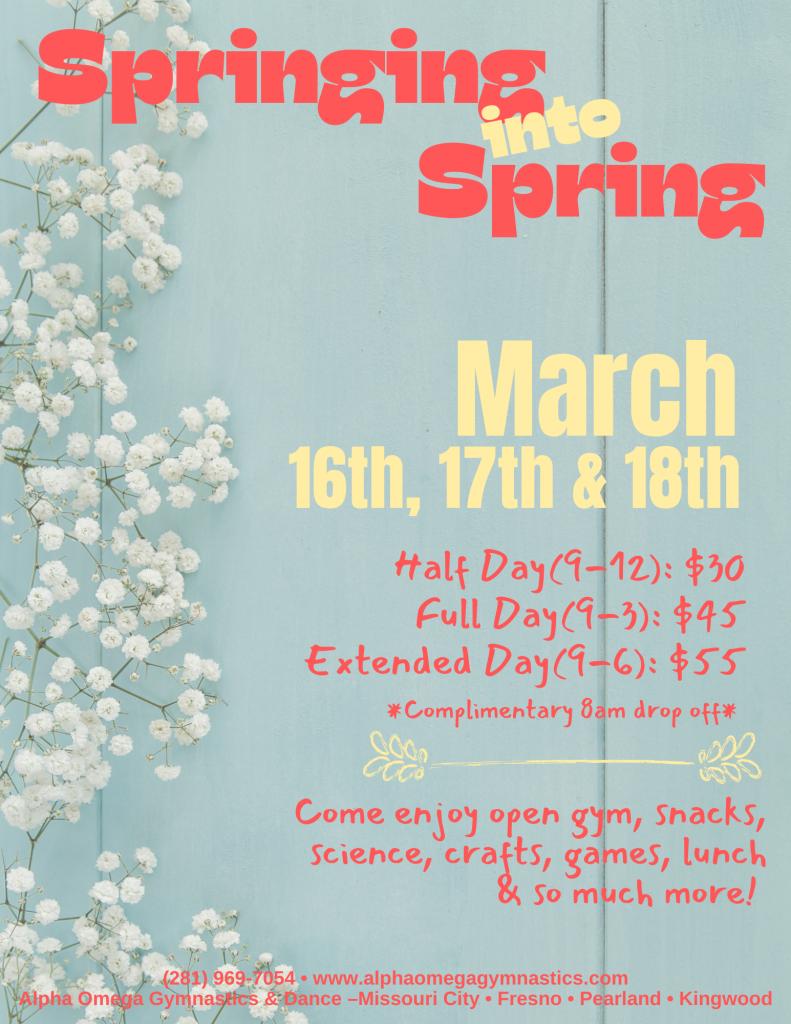 2021 Spring Break Camp